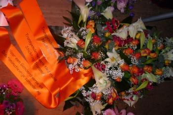 Bloemstuk Homomonument Dodenherdenking 2012